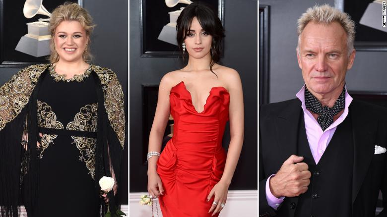 Kelly Clarkson, Camila Cabello, Sting and more weigh in on #MeToo at Grammys