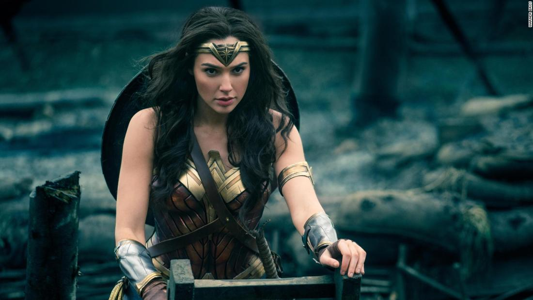 "<strong>""Wonder Woman""<strong></strong>: </strong>Gal Gadot stars as the Amazonian warrior who makes it her mission to try and stop a war. <strong>(HBO Now) </strong>"