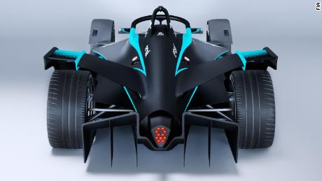 The Gen2's V-shaped rear wing reduces drag.
