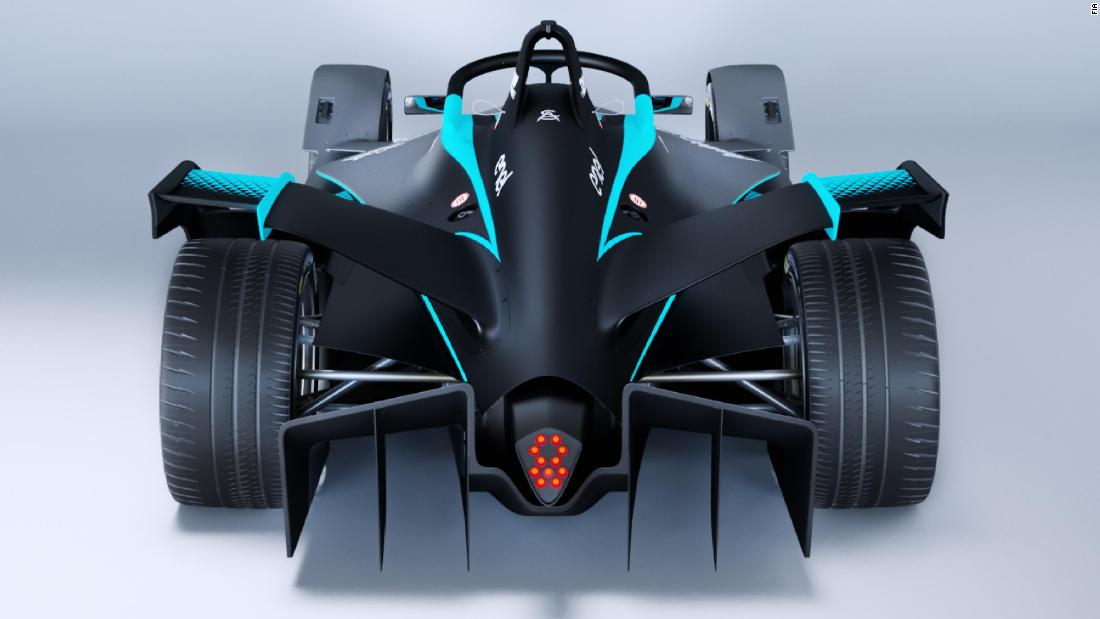 """This car represents the future of racing,"" said Alejandro Agag, Founder & CEO of Formula E."