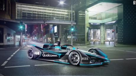 The Gen2: Formula E's F22-inspired race car