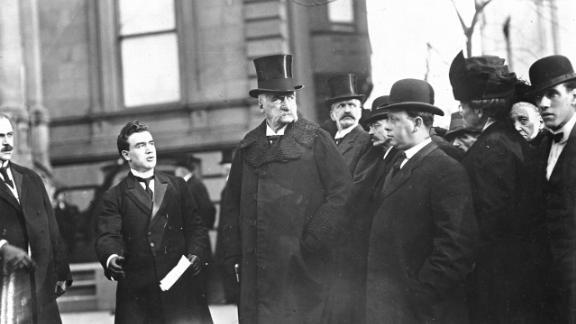 J.P. Morgan (center)