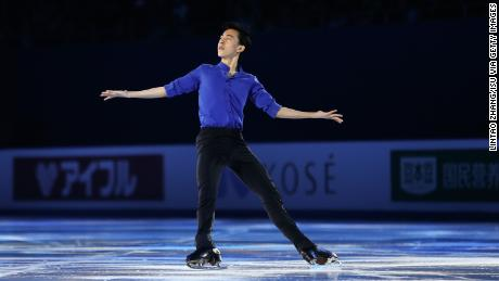 Figure skater Nathan Zhou is the youngest member of the US Olympic team.