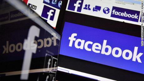 A picture taken on November 20, 2017 shows logos of US online social media and social networking service Facebook. / AFP PHOTO / LOIC VENANCE        (Photo credit should read LOIC VENANCE/AFP/Getty Images)