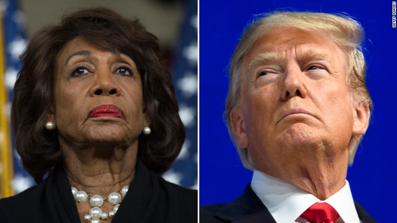 Trump: Maxine Waters a 'low IQ individual'
