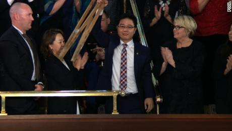 Trump honors North Korean defector at SOTU