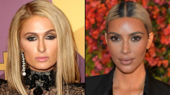 Paris Hilton dressed up to look like Kim Kardashian West for a fashion campaign.