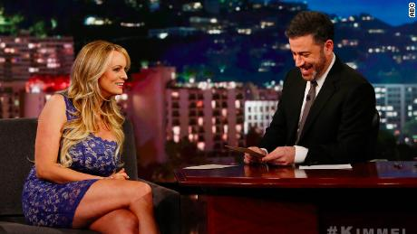 How a porn star taught a law class on Kimmel's show
