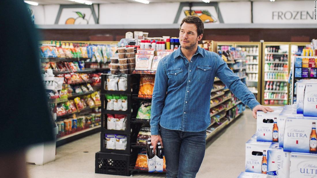 "<a href=""https://www.youtube.com/watch?v=kiE71P138rc"" target=""_blank"">Chris Pratt thinks he's starring in a Michelob Ultra commercial</a>"