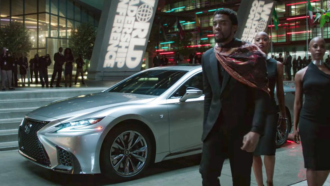 "<a href=""https://www.youtube.com/watch?v=01AEuxSlIMg"" target=""_blank"">Lexus partners with Marvel's new movie ""Black Panther""</a>"