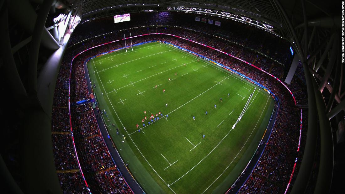 Wales has three home games at the 74,500-seat Principality Stadium, also welcoming Italy and France in the final two weekends of action.