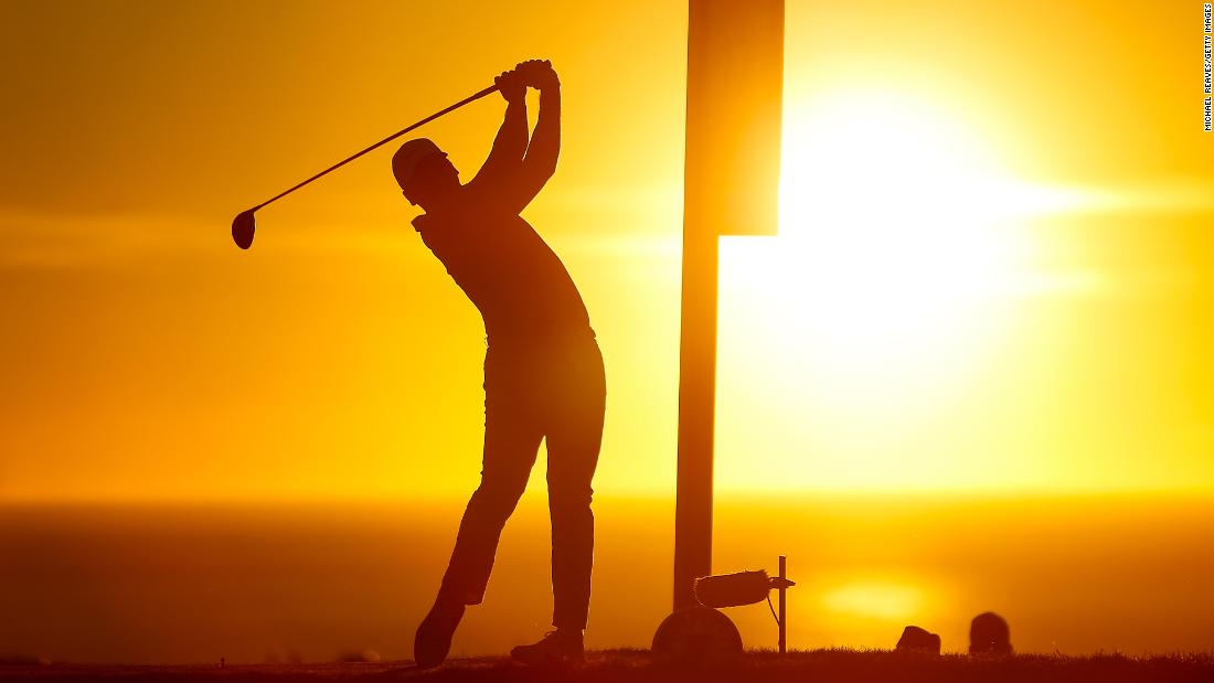 <strong>Day in the sun:</strong> Australian Jason Day won the Farmers Insurance Open after a six-hole playoff against Sweden's Alex Noren at Torrey Pines, San Diego.