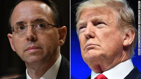 For Donald Trump, firing Rod Rosenstein might be just the thing