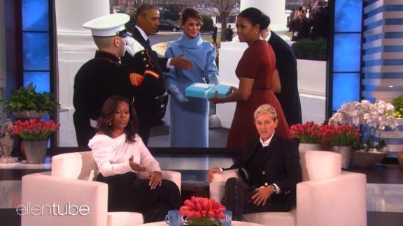 michelle obama ellen trumps