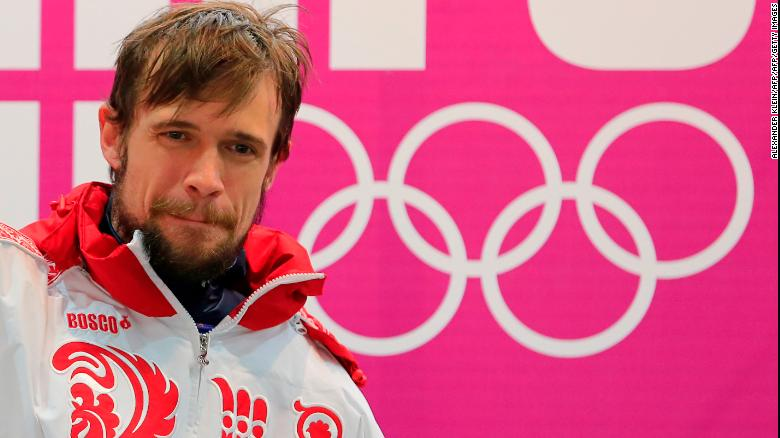 Russia's Alexander Tretiakov won a gold medal in the men's skeleton.