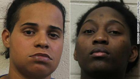 Two Wicomico County, MD women were arrested and charged with multiple counts of child abuse Wednesday, after police say, they repeatedly beat three children and forced them to eat dog feces, according to the Maryland State Police.  Amanda R. Wright, 29 (LEFT), and Besline Jospeh, 25 (RIGHT), were arrested at their Mardela Springs, MD residence Wednesday morning, after MSP received information on January 26 regarding potential child abuse inside the home. State investigators along with personnel from the Wicomico Child Advocacy Center began an investigation immediately after receiving information about the alleged abuse, and the three children were removed from the residence that same night, according to MSP.  Investigators claim the women beat the children, ages 8, 9 and 10 with their hands, belts, and extension cords on multiple occasions beginning in the spring or summer of 2017. The children were also allegedly locked in closets or the basement and fed a diet of bread, oatmeal and water, and reportedly forced to eat dog feces, MSP says. The children were also allegedly assaulted multiple times with what police describe as, ìan electronic control device,î and threatened with death if they told anyone about the abuse they received inside the home, police say.