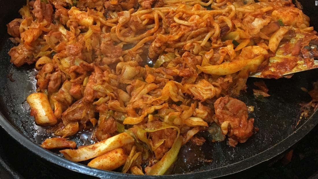 Dak-galbi: Unofficial dish of the PyeongChang Olympics