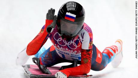 Elena Nikitina, who had her appeal upheld, won bronze at Sochi 2014 in the skeleton.