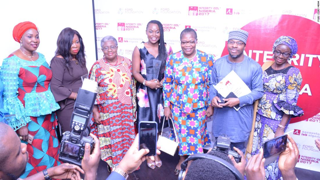 After 11,000 nominees five finalist were chosen. During the week the candidates are filmed and featured on national television. Nigerian citizens voted online and by SMS.