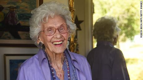 Connie Sawyer worked as an actress in Hollywood well past her 100th birthday.