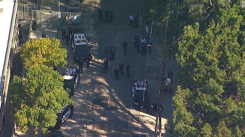 LAPD: Suspect is in custody