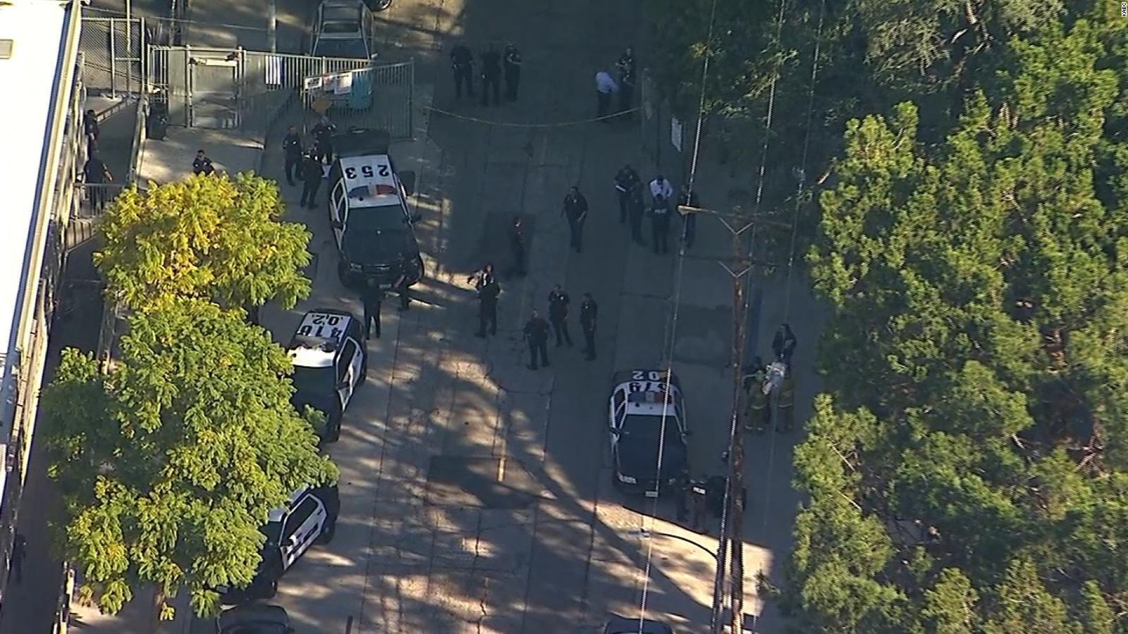 Los Angeles school shooting; 12-year-old girl in custody, 4 wounded ...