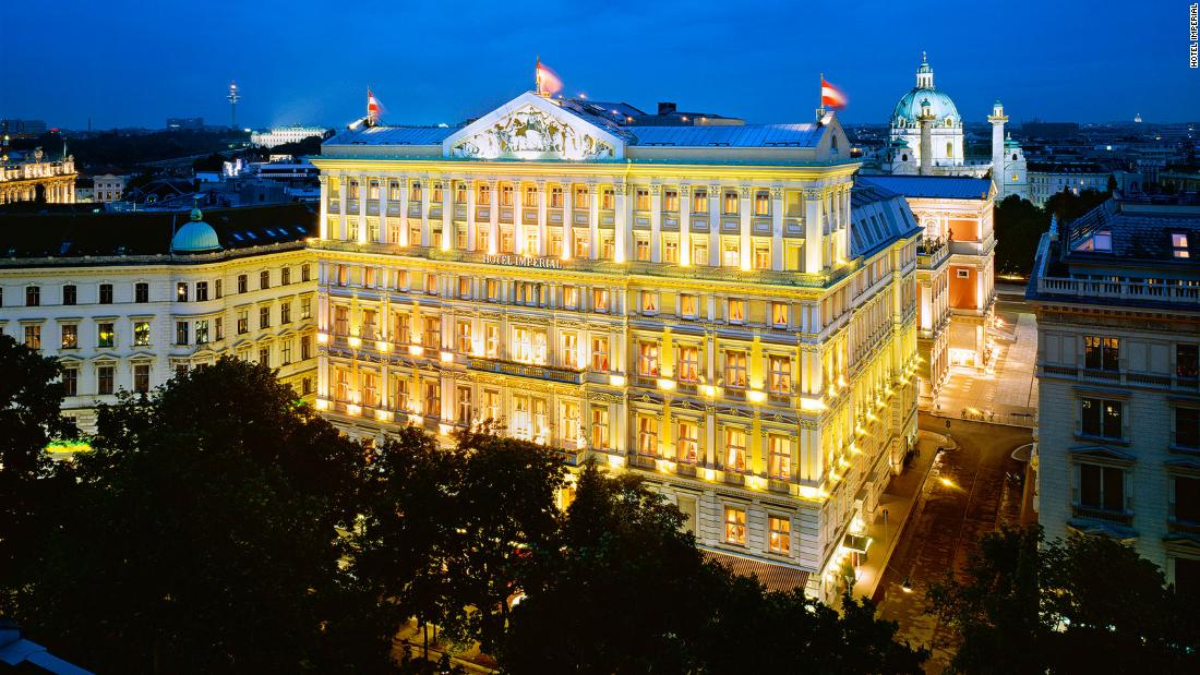 <strong>Composing music in Vienna: </strong>The Hotel Imperial is offering guests a chance to immortalize their love with a specially composed piece of music recorded by members of the Vienna Philharmonic Orchestra.