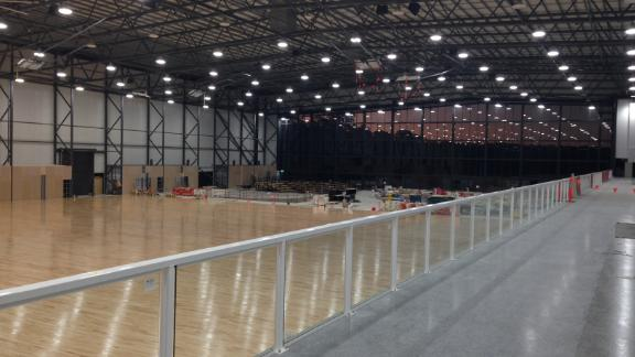 Better known as the set of a blockbuster movie, these Gold Coast studios will be transformed into venues for table tennis and boxing with a capacity of 3,000.