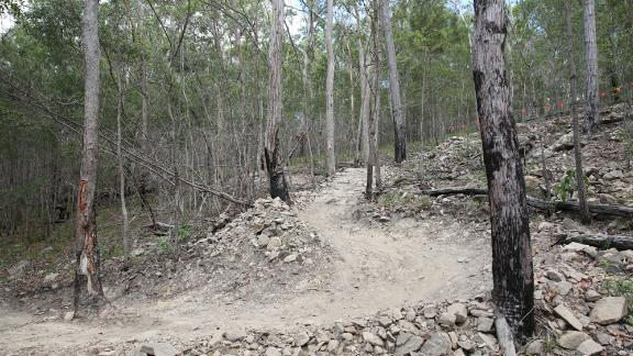 A year-long project throughout 2016 helped revamp the trails and facilities of the Nerang National Park in preparation for the mountain bike competition.