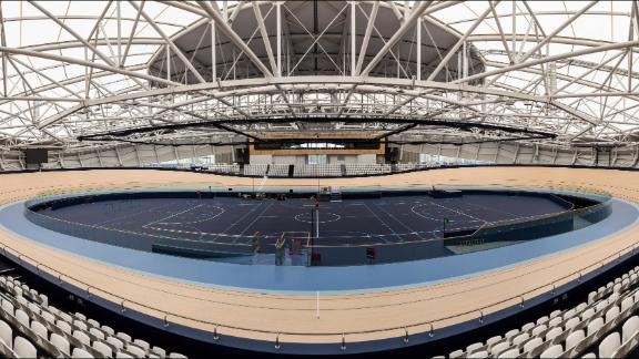 Track cycling will be held in Brisbane at this 4,000-seat, $59-million venue, named after the retired Australian athlete who won two Olympic and five Commonwealth titles. The other Brisbane site of the Games is the Belmont Shooting Center.