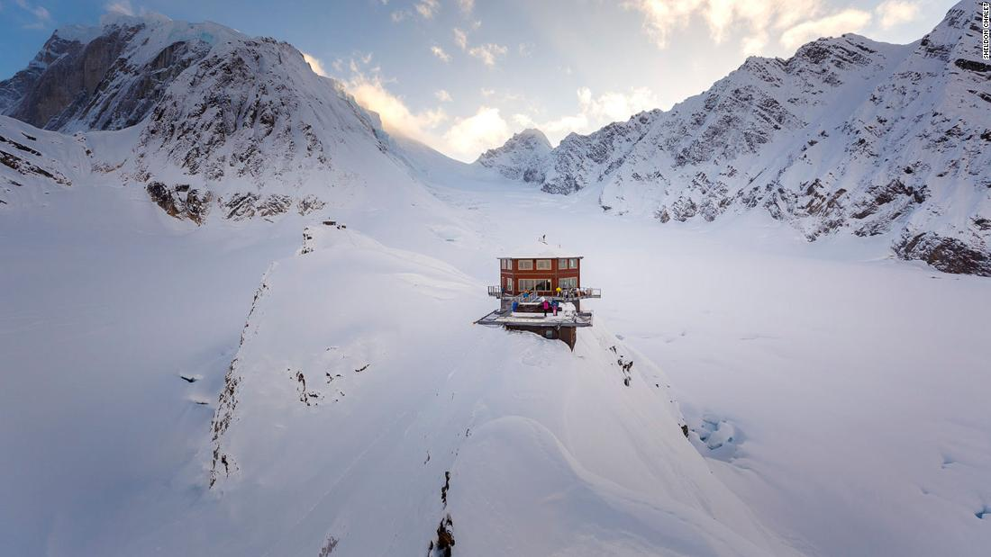 <strong>Off-grid in Alaska: </strong>The Sheldon Chalet in Denali National Park sits at a height of 6,000 feet, so a helicopter ride is the only way in and out.