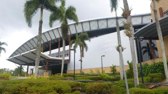 Basketball heats will also take place in Cairns. The Center here has a capacity of 5,000.