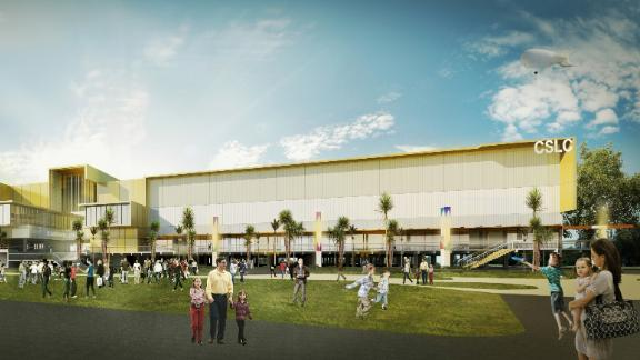 Weightlifting, badminton, powerlifting and wrestling will all be hosted in the shadow of the Carrara Stadium.