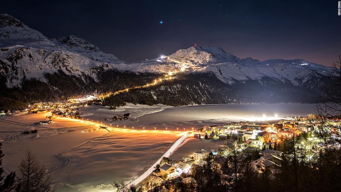 <strong>Private slopes in St. Moritz:  </strong>Corvatsch, one of  main slopes, is normally full of well-heeled skiers, but a very special package allows guests to have the entire slope -- and lift -- to themselves, from 7 p.m. to 2 a.m.