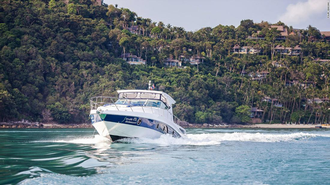 <strong>Cruising in Koh Samui: </strong>With canapés, champagne, picture-perfect sunsets and snorkeling turquoise waters all part of the package, its ideal for a Valentine's Day cruise.