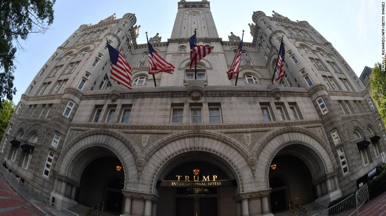 'Where is everyone?': Inside Trump's DC hotel post-presidency