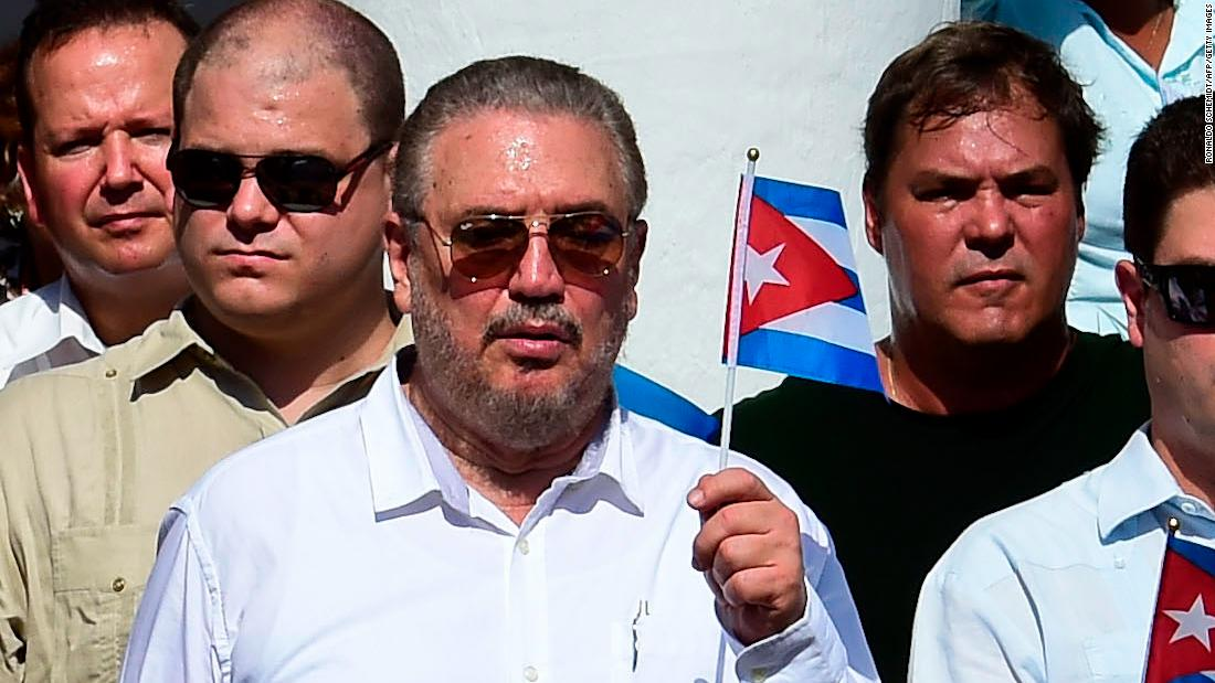 Fidel Castro's eldest son takes own life, state media reports