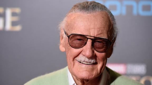 Stan Lee attends the Premiere of Disney and Marvel Studios