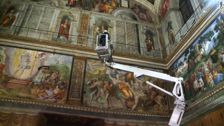 Delia Gallagher gets exclusive access to the Sistine Chapel as it has its annual check up.