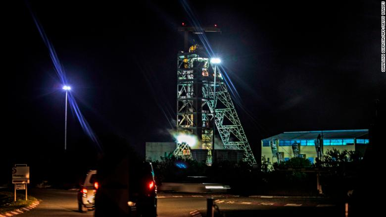 A power outage caused hundreds of miners to become trapped in February at a mine in Theunissen.