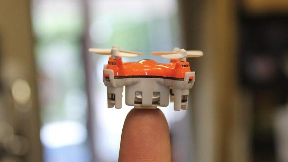 Manufacturers once boasted of drones that could fit in the palm of your hand. The Aerix Aerius takes that claim to new levels with this, the world