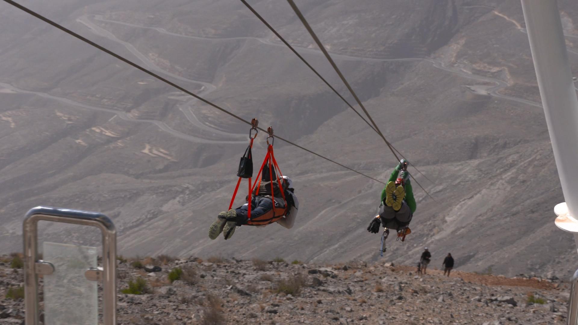 World\'s longest zip line coming to Ras Al Khaimah, UAE | CNN Travel