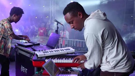 The DJs in EA Wave performing in Nairobi.