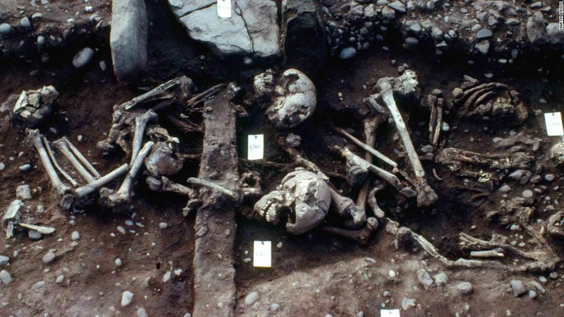 rare find: mass grave may belong to viking great army - cnn