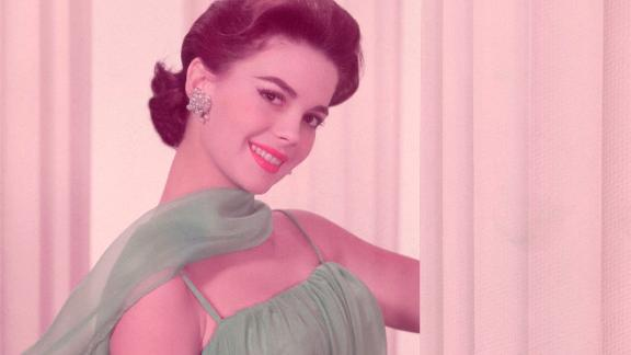 A portrait of actress Natalie Wood, circa 1961. (Photo by Archive Photos/Getty Images)