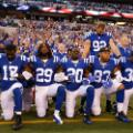 COlts kneel