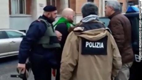 Man arrested in Italy in drive-by shootings of foreigners