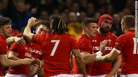 Wales proved dominant throughout the game at the Principality Stadium, running in four tries, including two for Leigh Halfpenny.