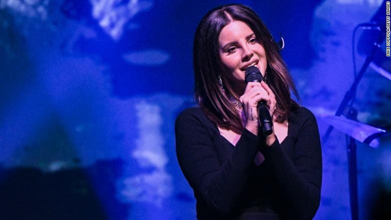 Man arrested outside Lana Del Rey concert