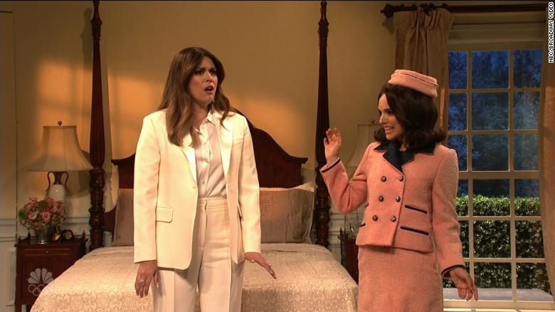 First ladies give Melania advice on 'SNL'